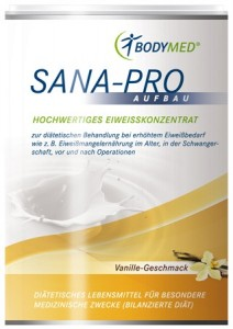 Bodymed PowerShake SANA-PRO AUFBAU Vanille