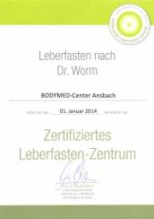 Bodymed Center Ansbach - zertifiziertes Leberfasten Zentrum